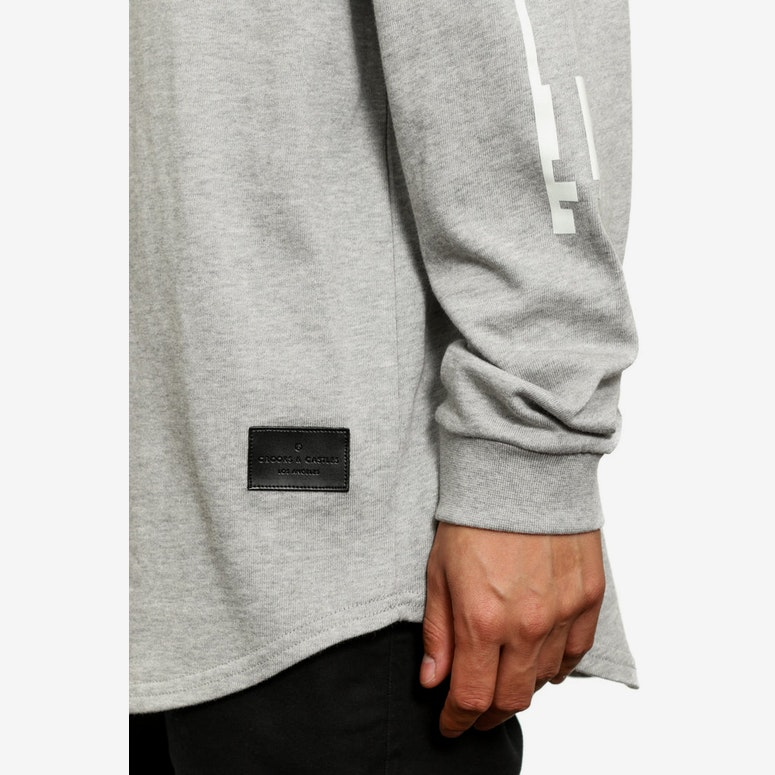 Swindle Long Sleeve Tee Grey