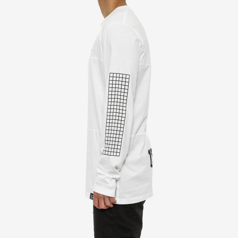 Lexicon - Panel T Long Sleeve White