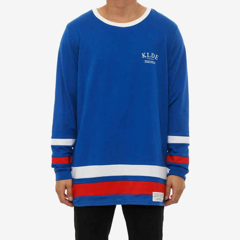 Gretzky Long Sleeve Tee Blue