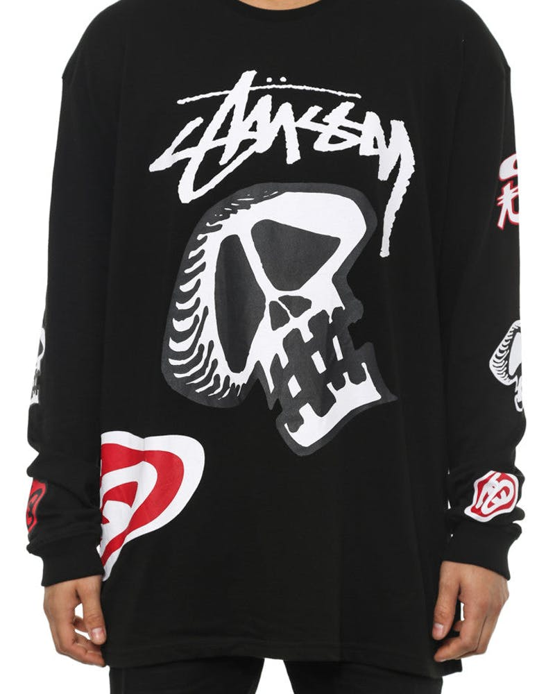 Warped CM Long Sleeve Tee Black