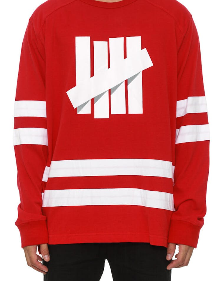 4787f87f Undefeated Breakaway Hockey Jersey Red – Culture Kings