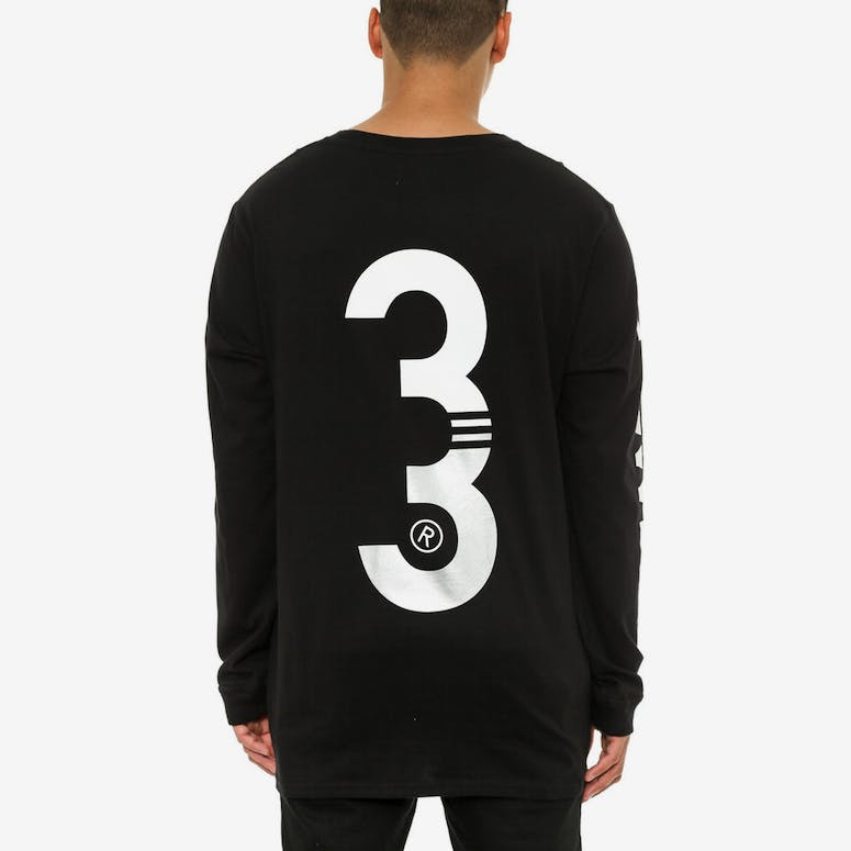Mont Qrs Long Sleeve Tee Black