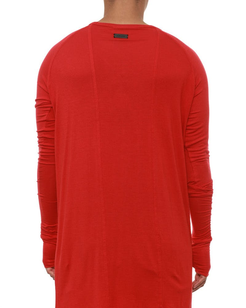 Long Sleeve Base Layer Tee Red