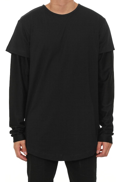 Vitale Knit Long Sleeve Black