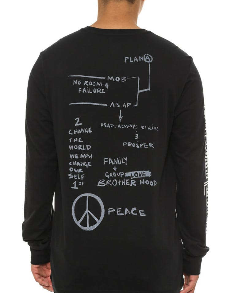 A$ap Ferg Long Sleeve Tee Black