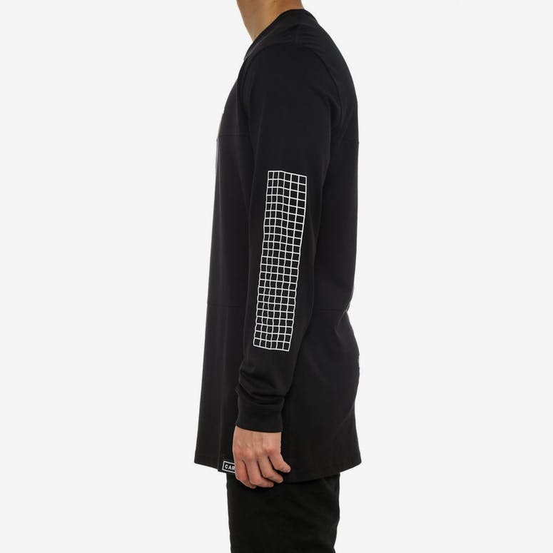 Lexicon - Panel T Long Sleeve Black