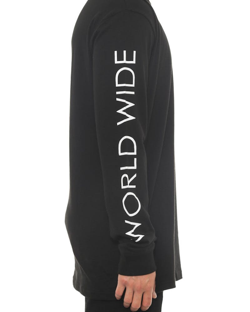 World Wide CM Long Sleeve Tee Black
