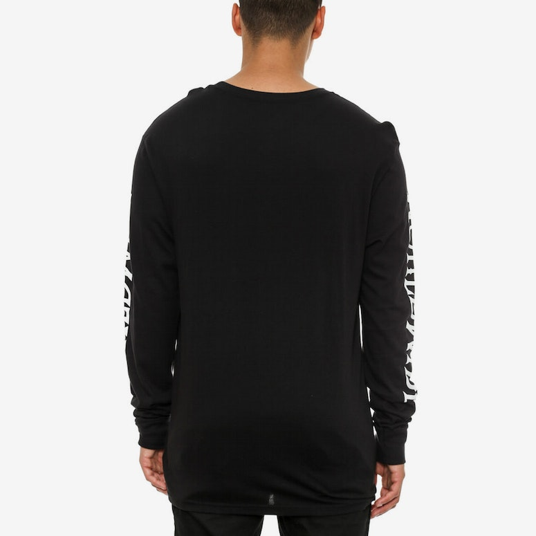 Lager Long Sleeve Tee Black