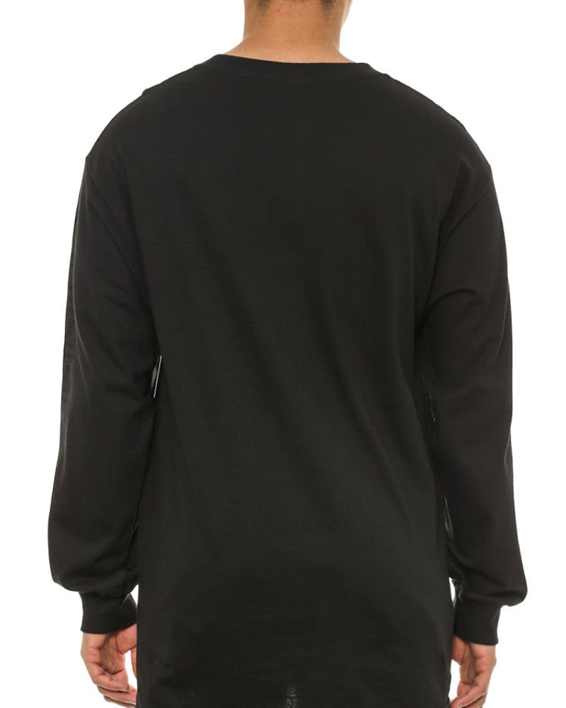Greco Crks Long Sleeve Black