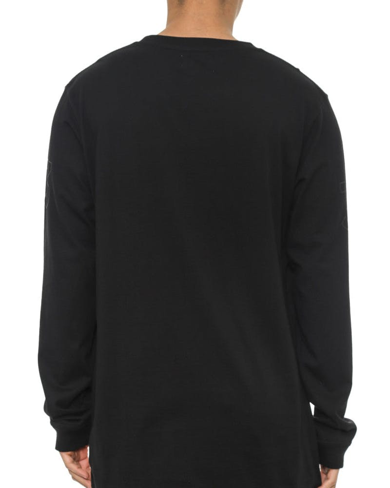 Qrs Long Sleeve Tee Yard Black