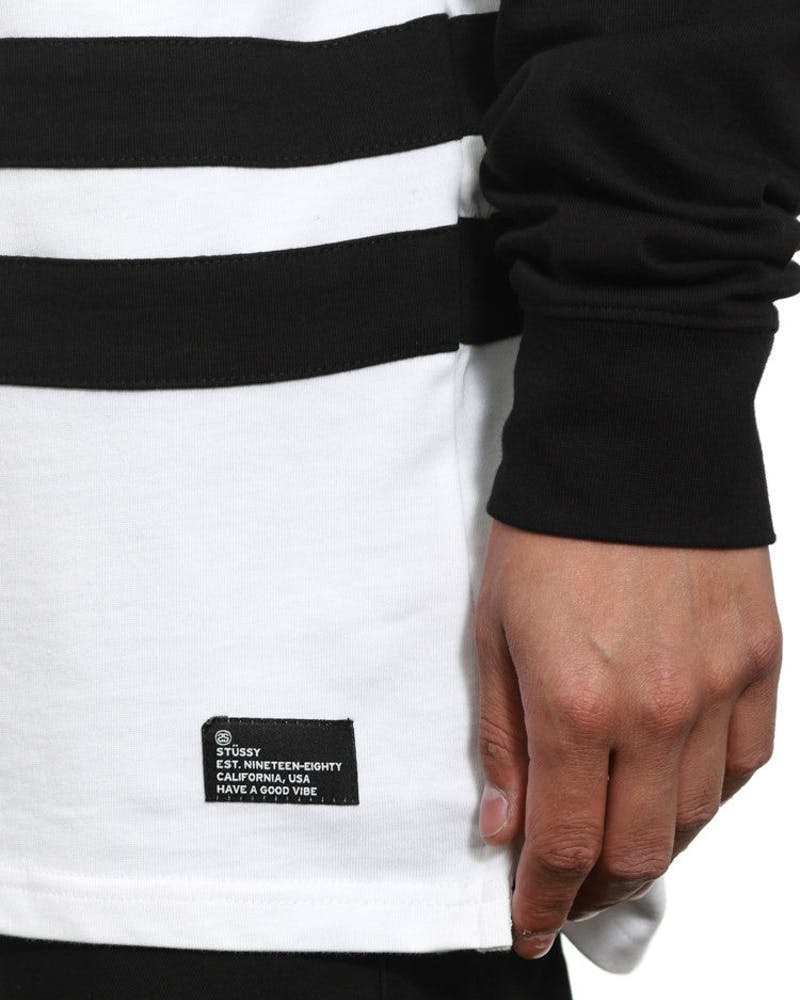 SS Link Rugby Long Sleeve Black