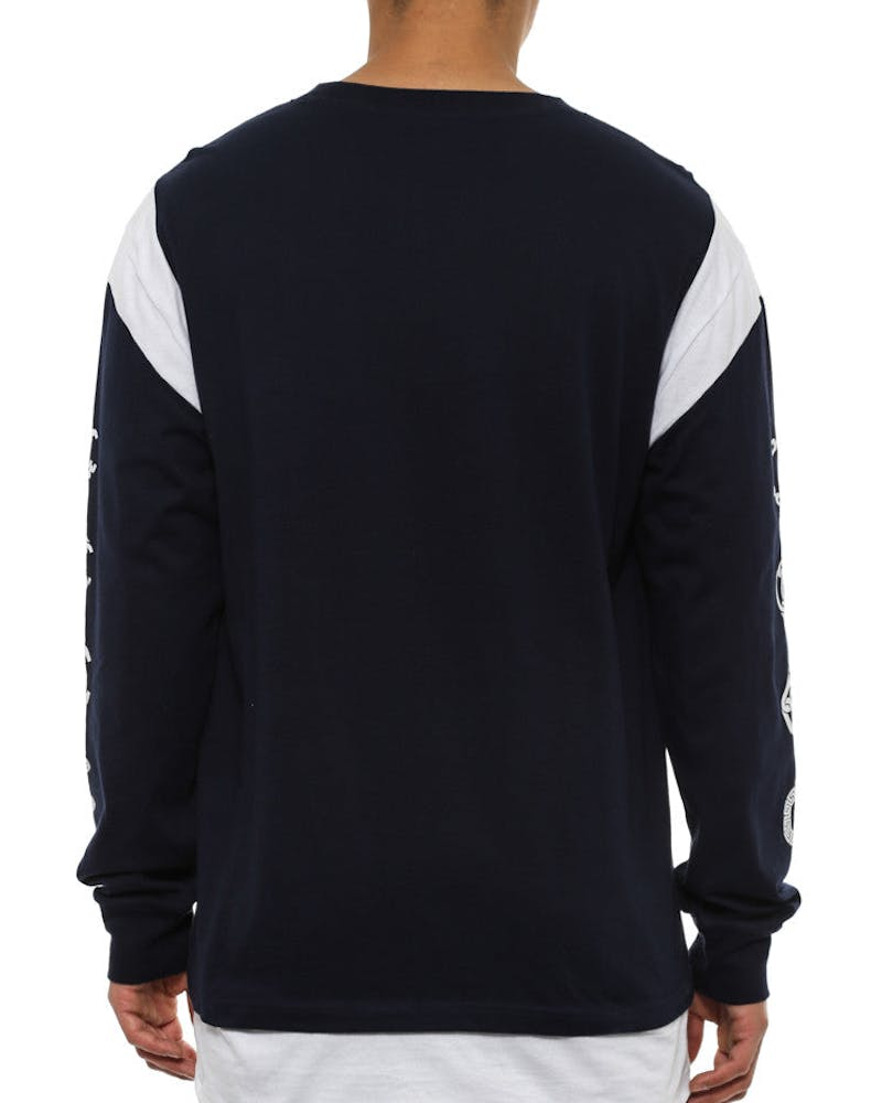 Regal Long Sleeve Jersey Navy/white