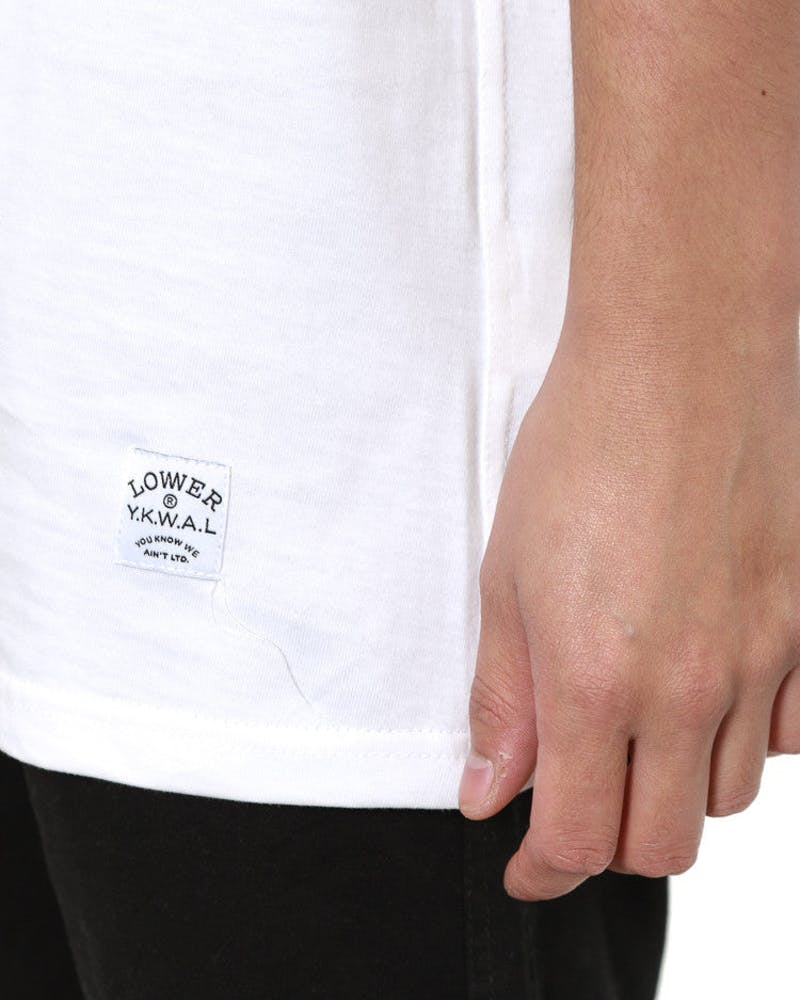 Casa (embroidery) Qrs Tee White