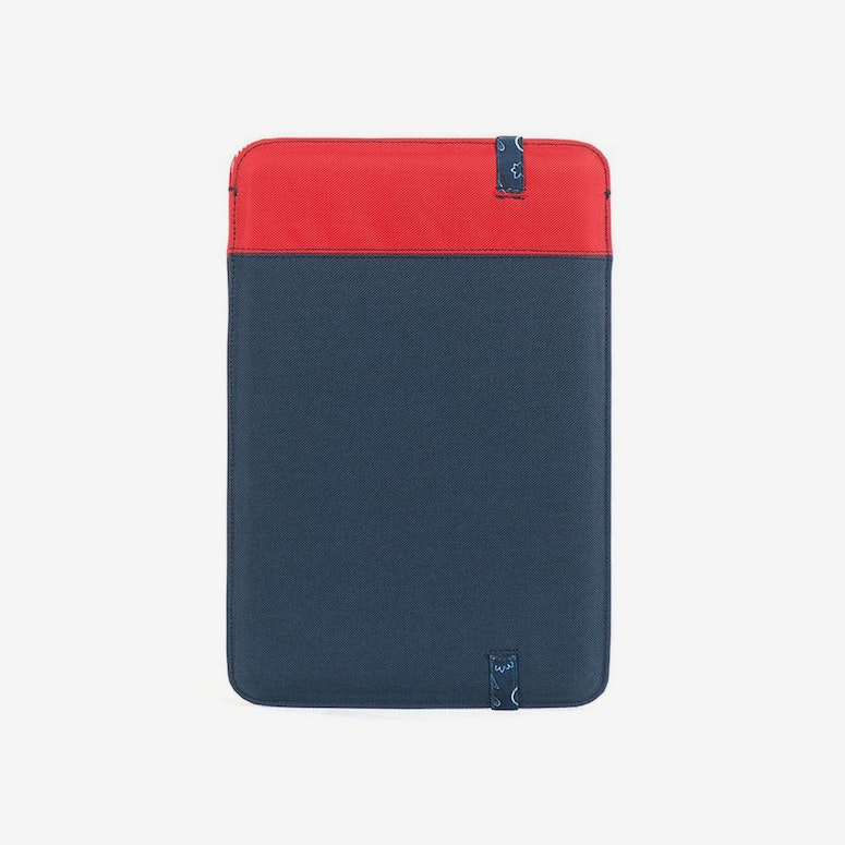 Cypress 13inch Mac Sleeve Red/navy