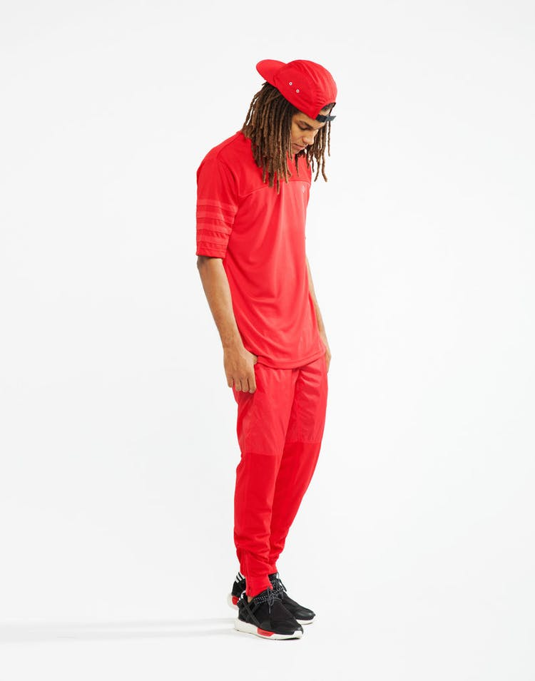 Maddox Mesh Fball Jersey Red