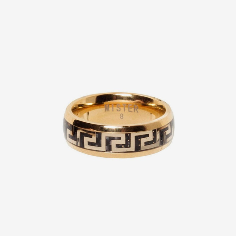 Maze Ring Gold