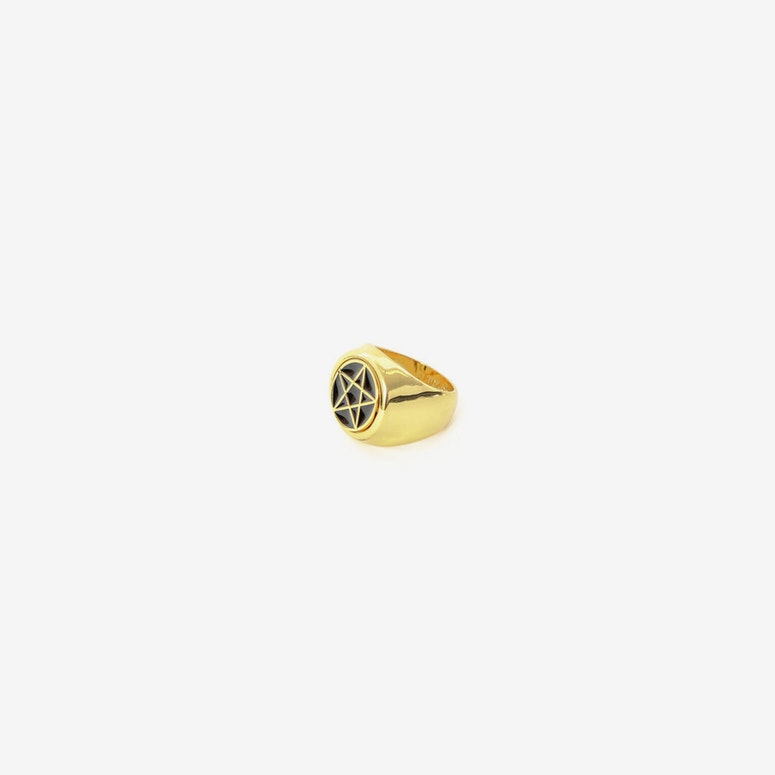 Devotion Flip Ring Gold