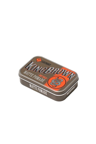 King Brown Matte Pomade Gunmetal