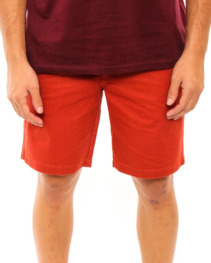 Baily Twill Short Tobacco