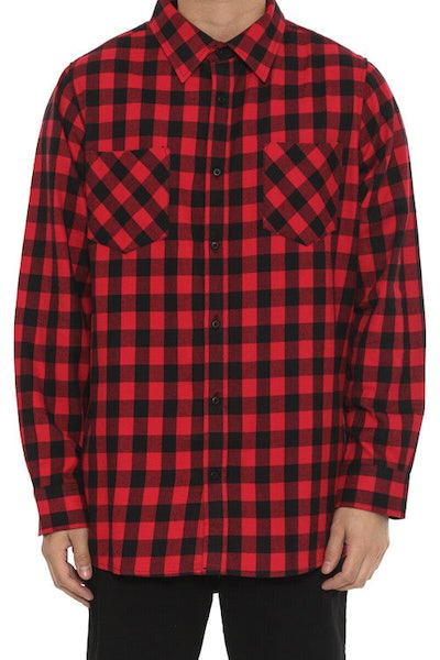 Chester Shirt Black/red