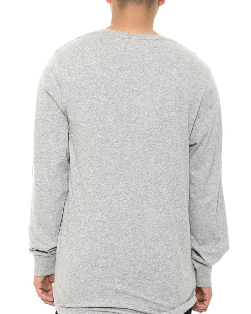 Phoenix Long Sleeve Grey/white