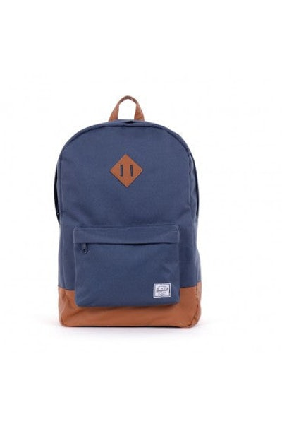Heritage Backpack Navy/tan