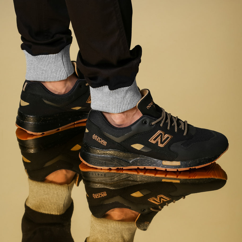 New Balance 1600 Classic Limited Ed. Black/gold – Culture Kings