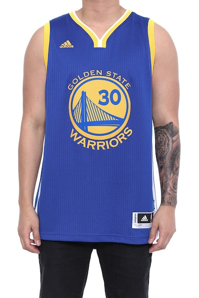 San Francisco Warriors Int Swingman Jersey Royal/yellow/wh