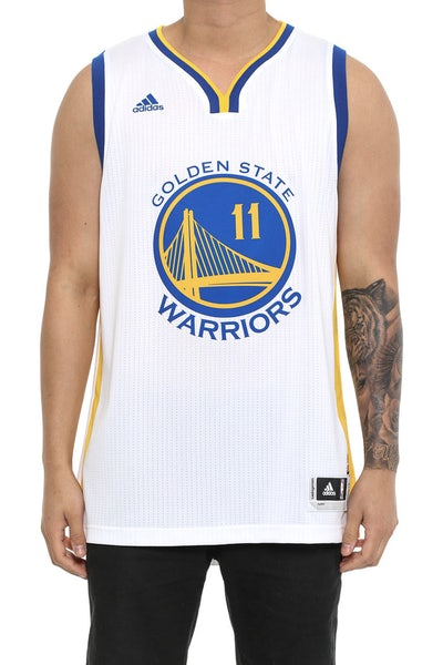 Adidas Performance Warriors 11 Thompson Swingman Jersey White