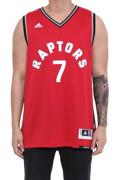 Raptors 7 Lowry Swingman Jersey Red