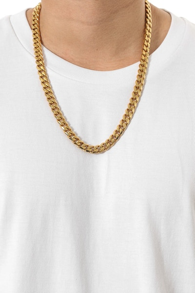 "Cuban 24"" Chain Gold"