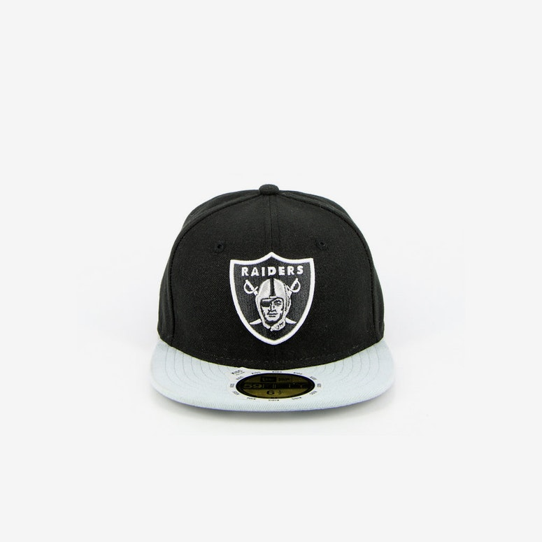 e384b638f13 New Era Oakland Raiders Kids On Black grey – Culture Kings