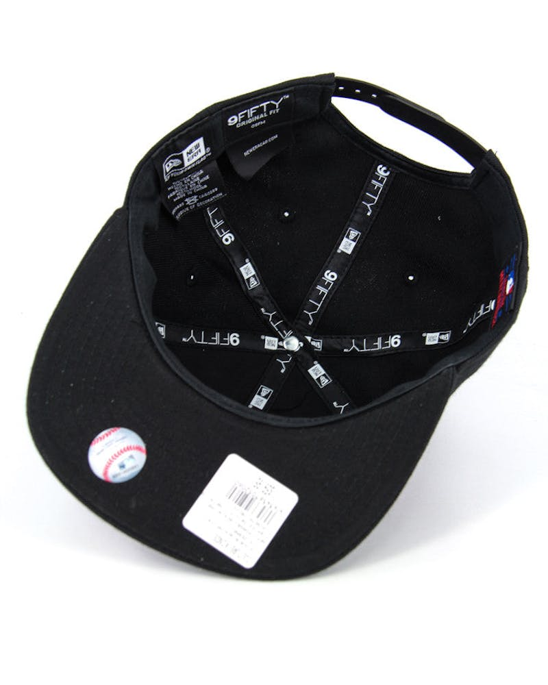 Pirates Orig.fit Metal Snapback Black/white