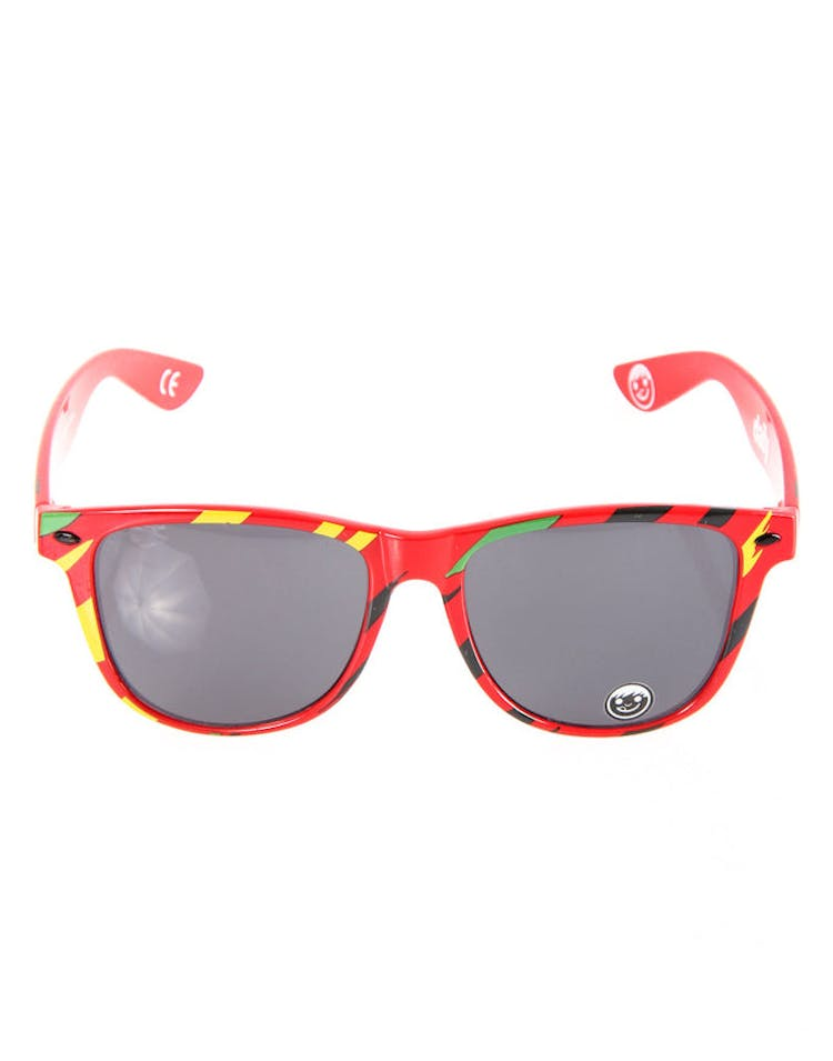 Daily Sunglasses Red/yellow/gree