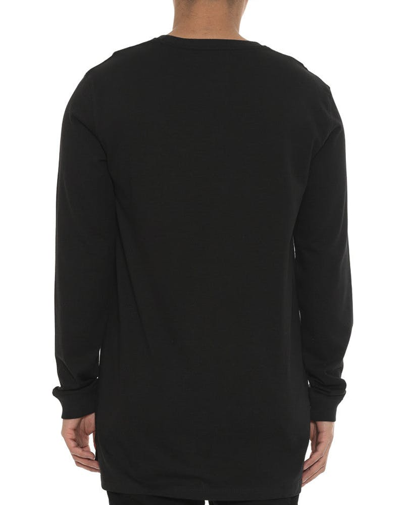 Tract Solemn Long Sleeve Tee Black