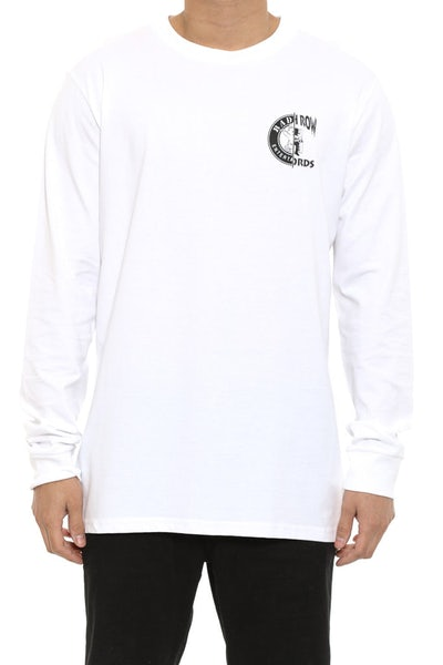 Coast 2 Coast Long Sleeve Tee White