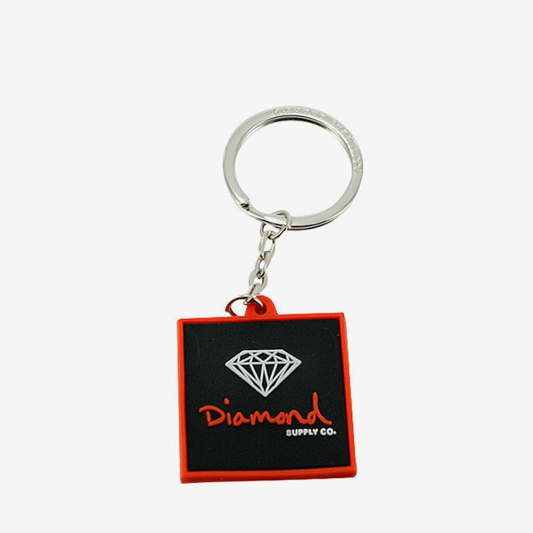 OG Keychain Orange/black