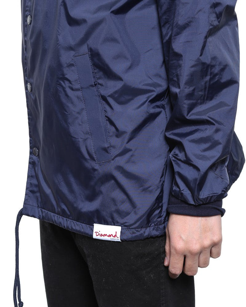 Boxed in Coachs Jacket Navy