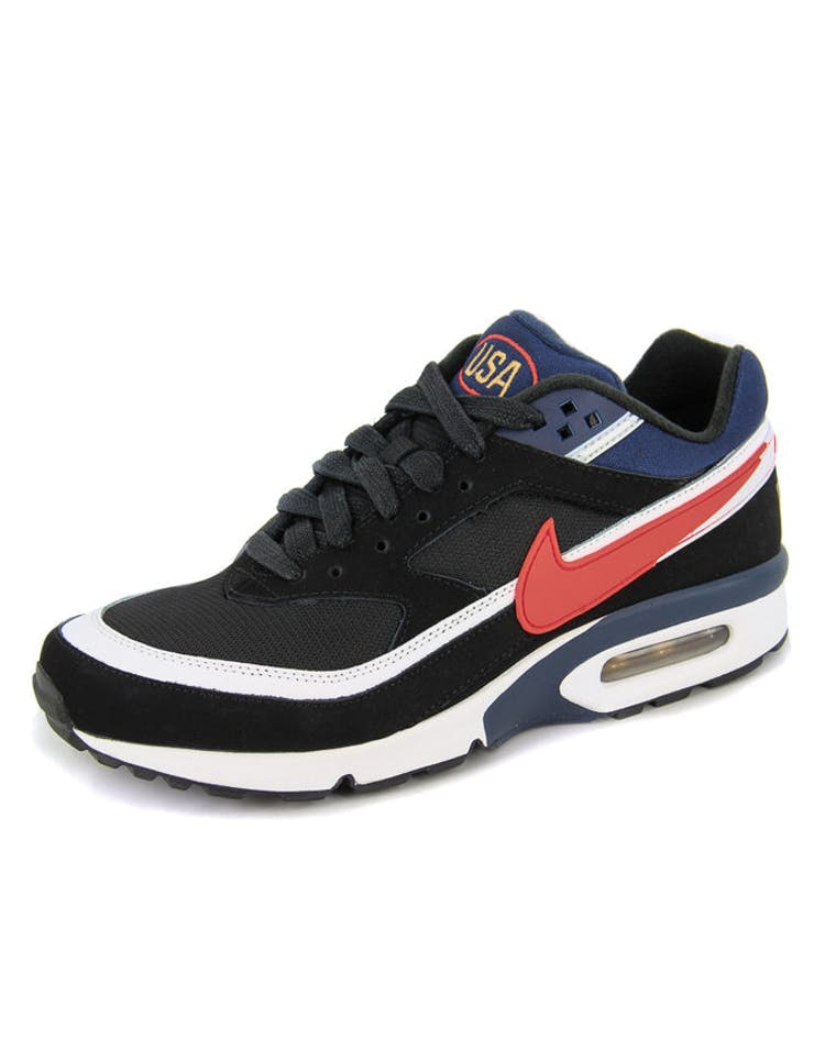 huge selection of edef3 11f0c Nike Air Max BW Premium Black white red – Culture Kings