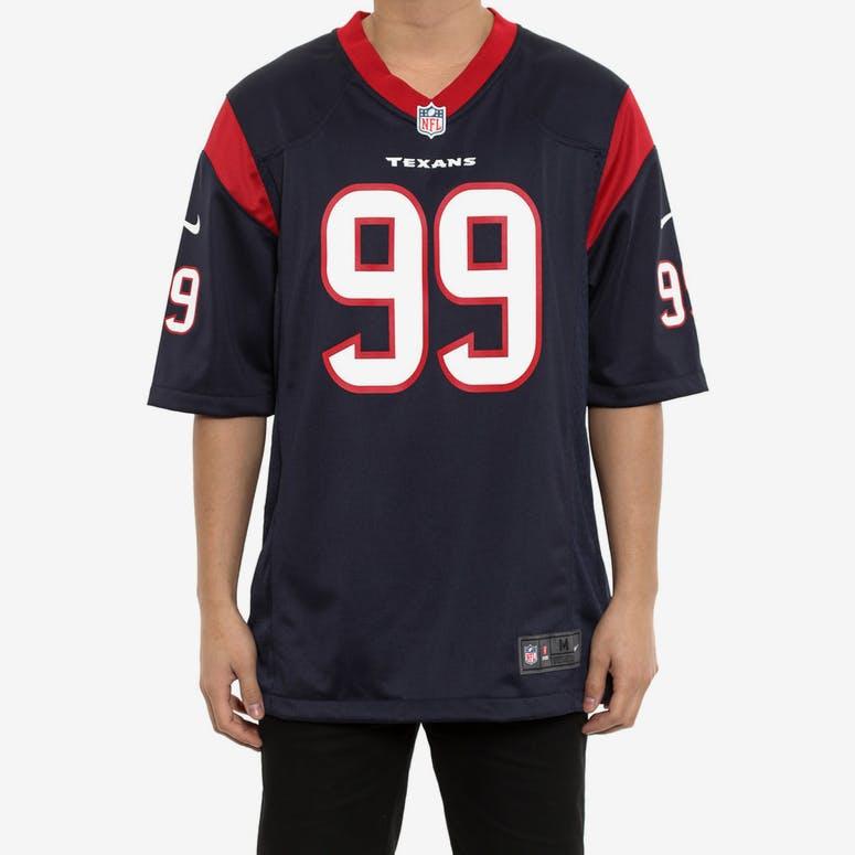 2964b4b4f Nike Texans 99 Watt Nfl Jersey Navy – Culture Kings