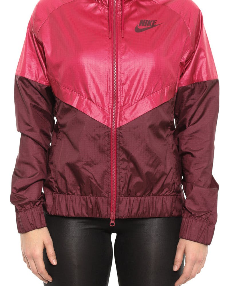 Women's Windrunner Jacket Red/maroon