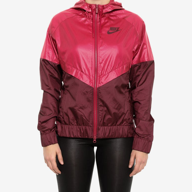 Nike Women s Windrunner Jacket Red maroon – Culture Kings 3de1f3416
