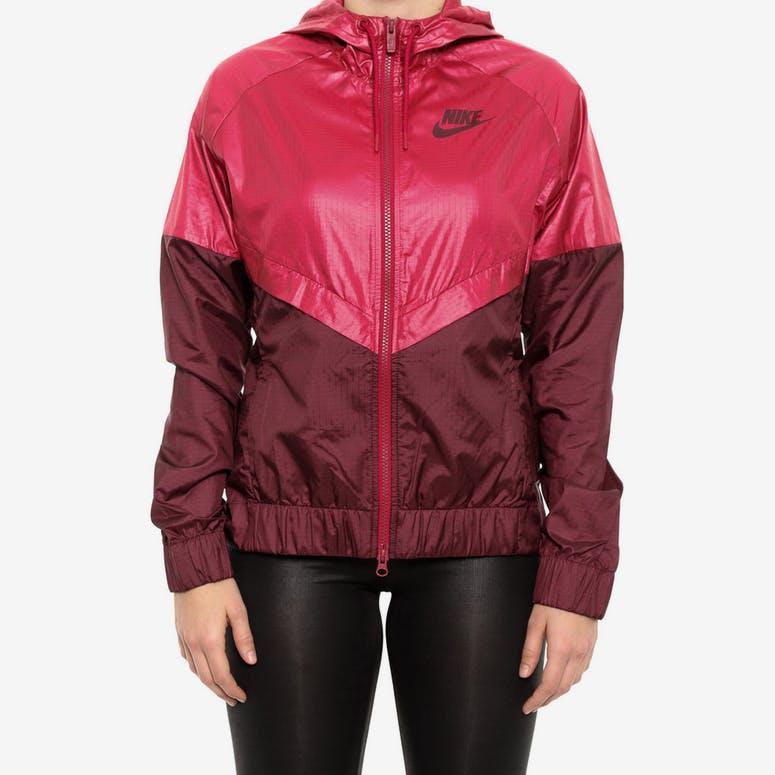 Nike Women s Windrunner Jacket Red maroon – Culture Kings 3de1f3416