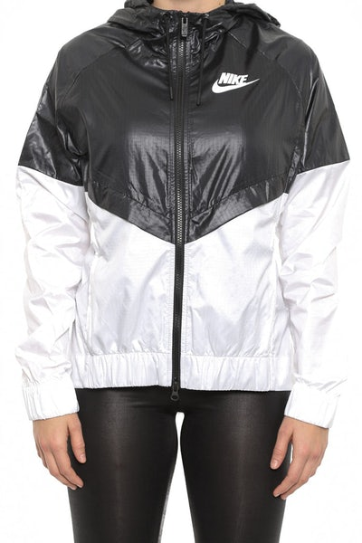 Women's Windrunner Jacket Black/white/whi