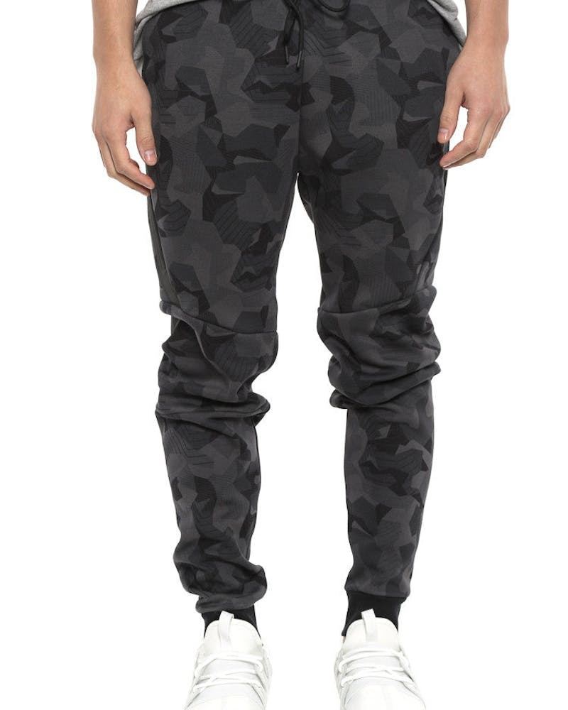 Camo Tech Fleece Jogger Anthracite/blac