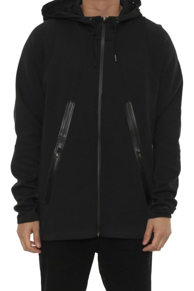 Lite Fleece Full-zip Hoodie Black/black