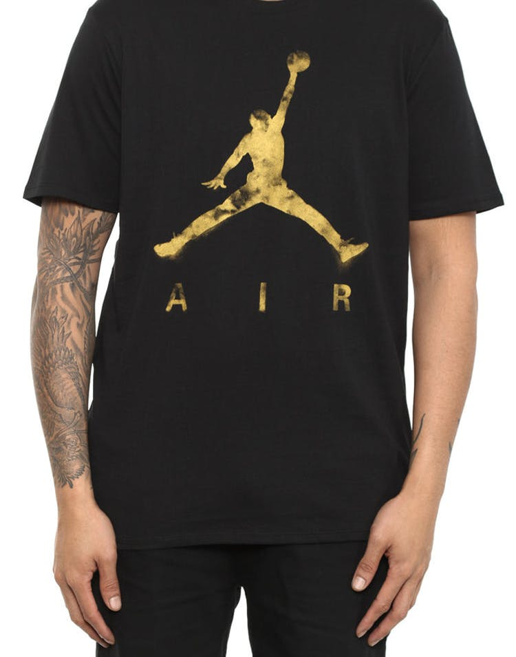 5aca0c6a38f5b3 Jordan Jumpman Air Dreams Tee Black metallic – Culture Kings