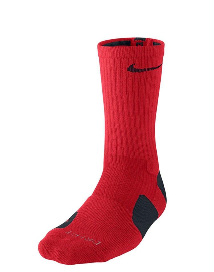 ea7ba958c5b8d Nike Elite Basketball Dri-fit Sock Red/black – Culture Kings