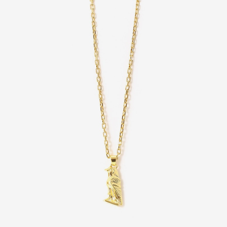 Micro Horus Necklace Gold