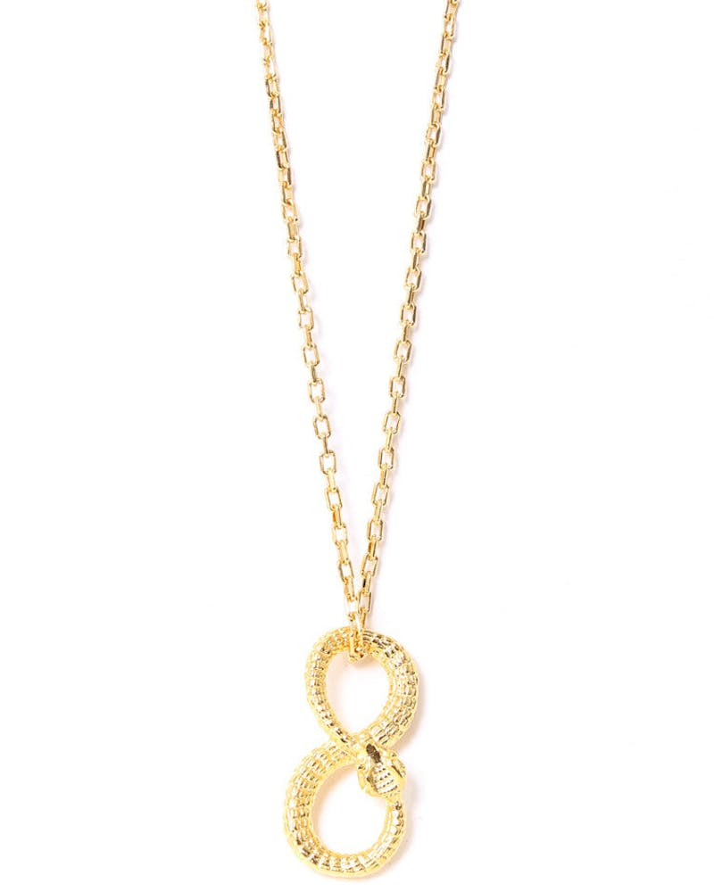 Infinisnake Necklace Gold